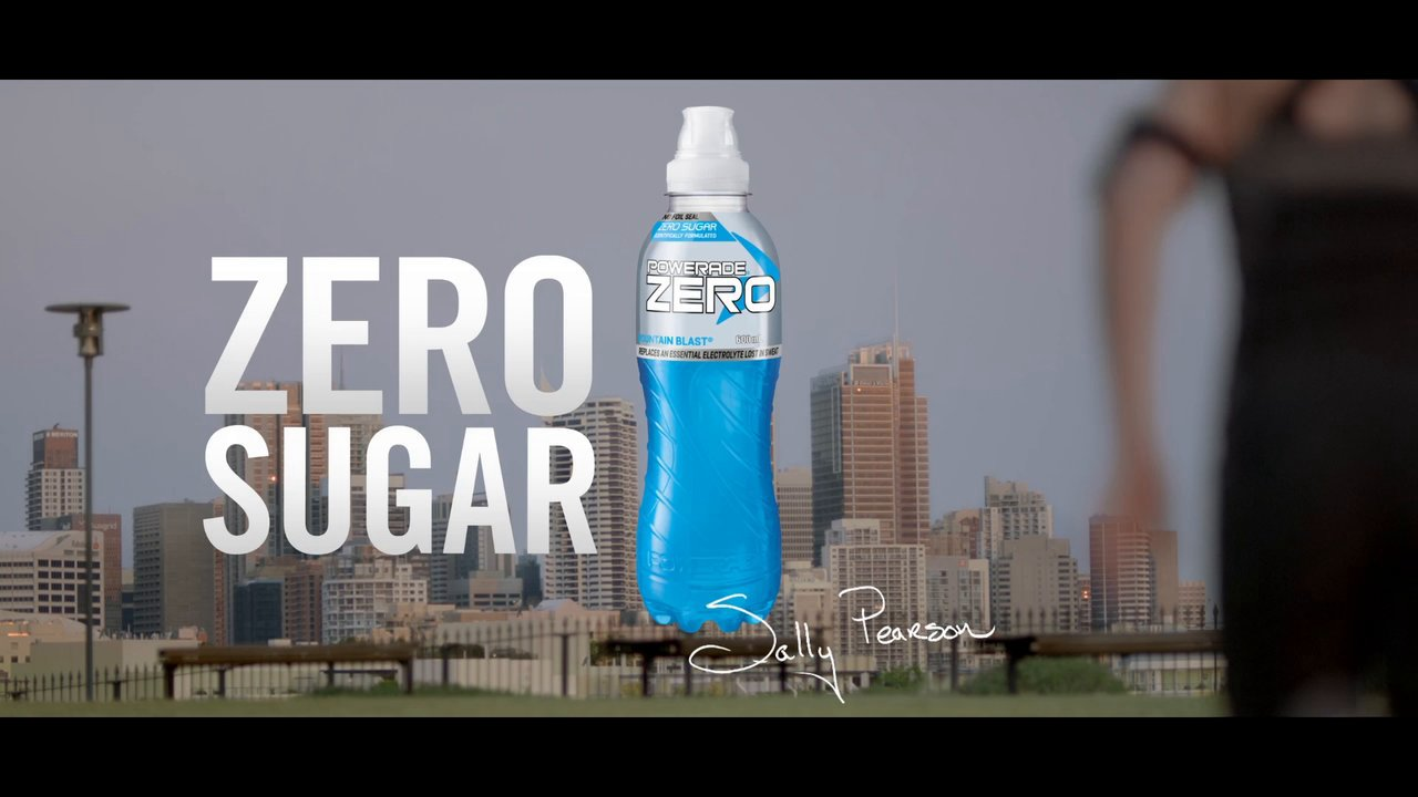 Powerade TVC featuring Sally Pearson