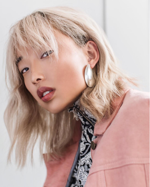 margaret zhang for kerastase makeup by Nicola Johnson